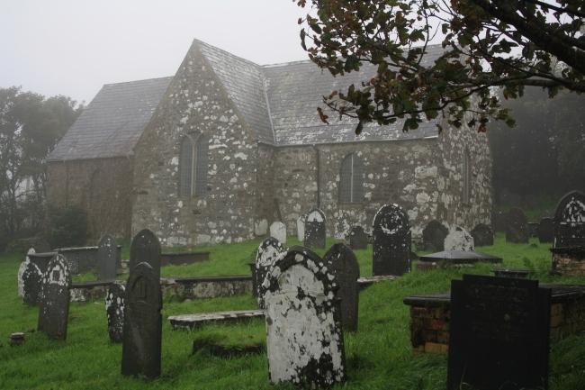 St Aelrhiw Church