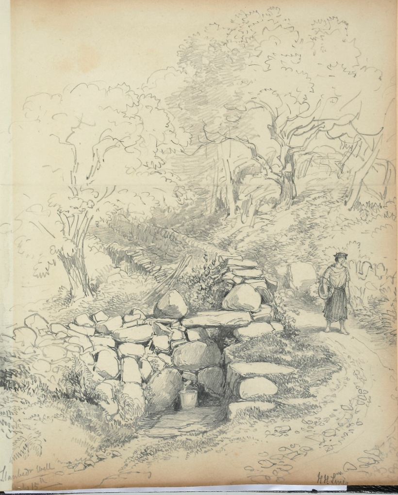Lines_family_sketchbook_-_Disc1_039_-_Llanbedr_Well
