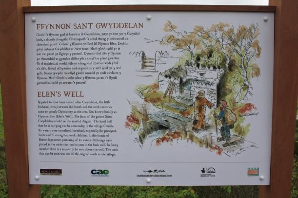 Ffynnon Elen, Dolwyddelan