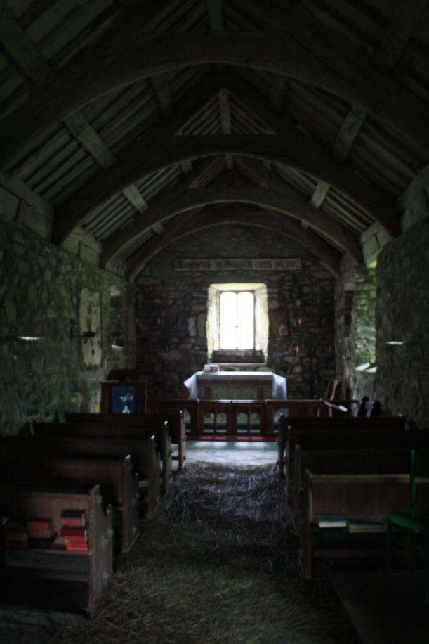 eglwys beuno, pistyll