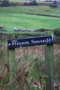 ffynnon sanctaidd, pistyll
