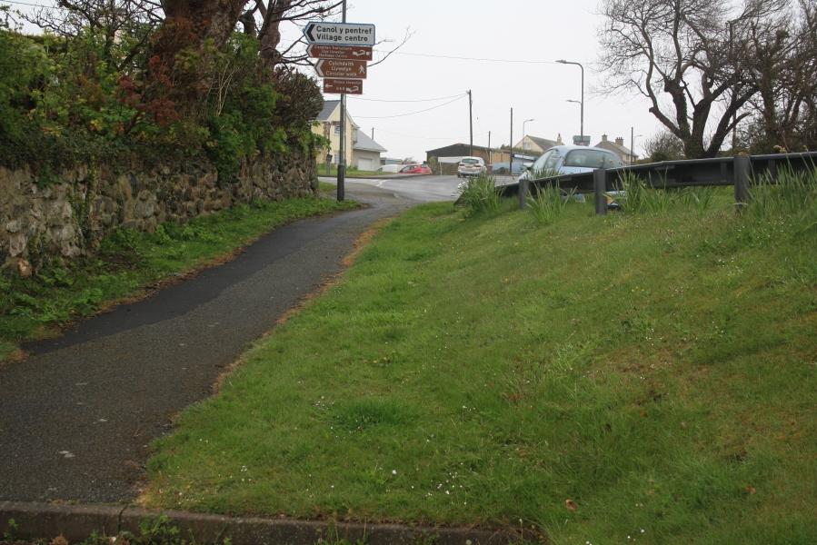 site of ffynnon Beuno, Aberffraw