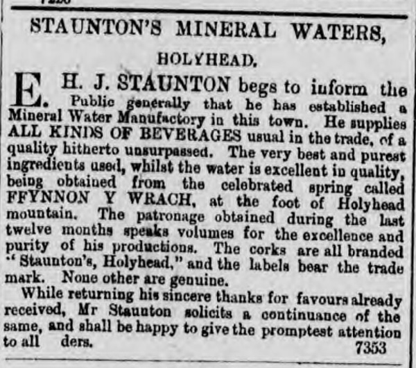 staunton mineral waters